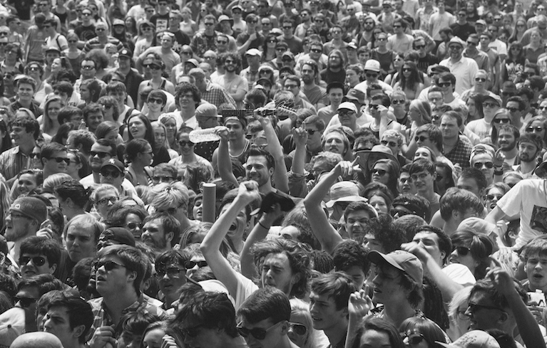 Pitchfork Crowd