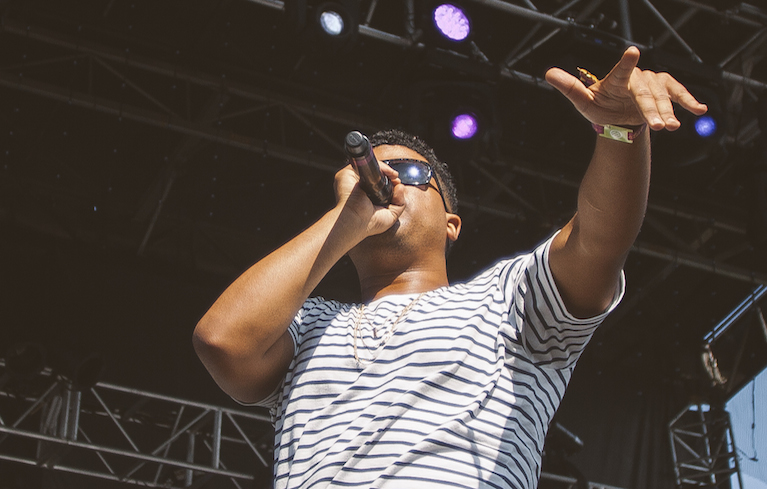 "ILoveMakonnen. Image Courtesy of <a href=""http://pitchforkmusicfestival.com/contact/#/media. arget=""_blank"">Pitchfork Media."